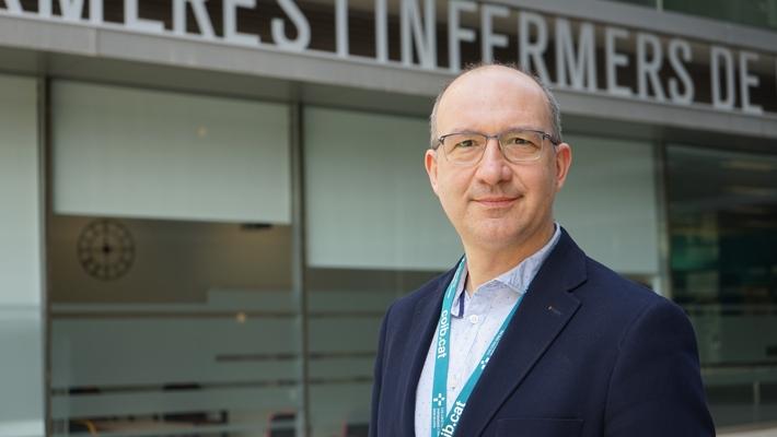 Jordi Morató, director del área de Comunicación y Relaciones Institucionales del Col·legi Oficial d'Infermeres i Infermers de Barcelona